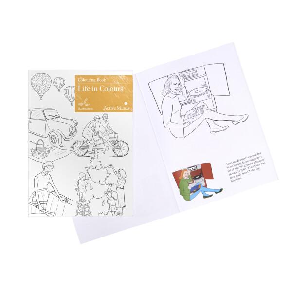 Colouring Books For Dementia Relish